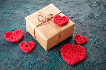 Papiers peints Pays d Europe Crochet valentine hearts.