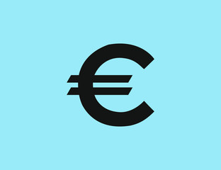 Vector flat business money currency symbol