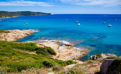 Côte d'Azur : Saint Tropez, Ramatuelle,Var, France