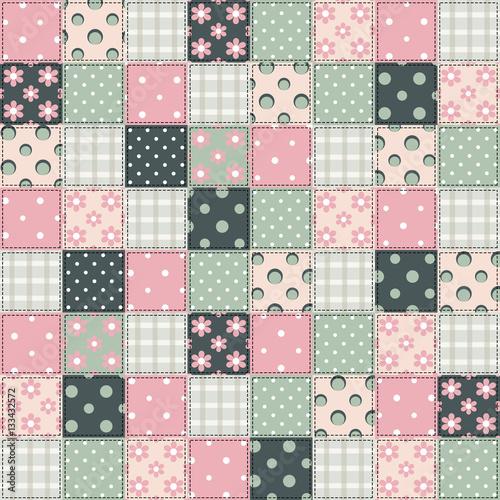 quilt patchwork texture stockfotos und lizenzfreie bilder auf bild 133432572. Black Bedroom Furniture Sets. Home Design Ideas