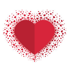 Vector decoration heart