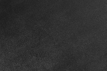 Abstract black textured leather background.