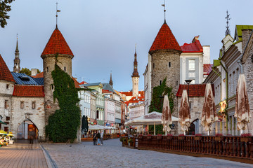 Viru Gate Tallinn,Estonia