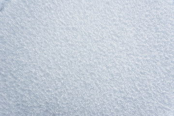 Background made of frozen snow