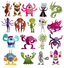 evil monsters and creatures