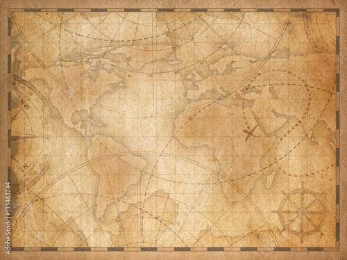 Old world map background stock photo and royalty free images on old world map background gumiabroncs Images