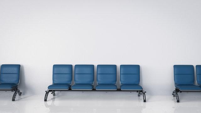 empty airport seats