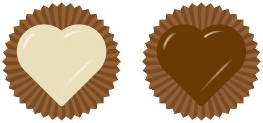 バレンタイン チョコレートのイメージイラスト