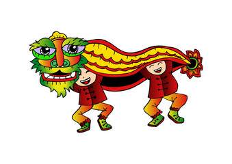 Traditional Chinese Lion
