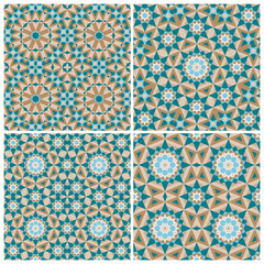 Set of mosaic patterns