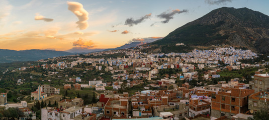 chefchaouen panorama view