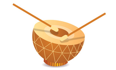 indian drum musical instrument