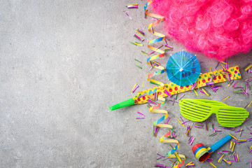 Carnival or birthday party background