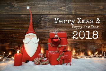 Weihnachtsgrüße 2018