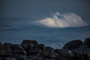 Shorebreak ocean