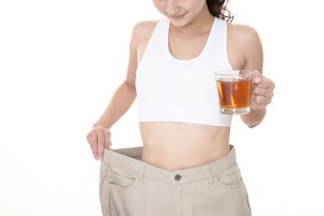 ダイエットに成功した女性