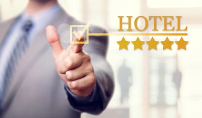 Five stars luxury Hotel accommodation and service