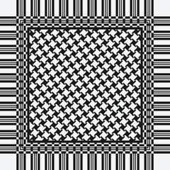 scarf keffiyeh pattern