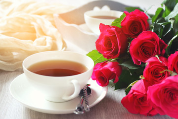 Valentine's Day: Romantic morning Tea  for two