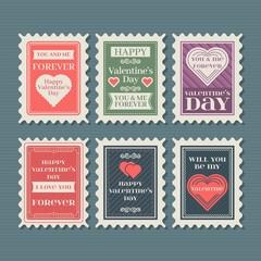 Vintage Valentine Stamp