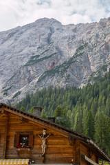 Malga Foresta, Braies, Bolzano, Trentino Alto Adige, Italia