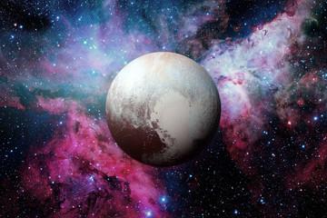 Pluto is a dwarf planet in the Kuiper belt.