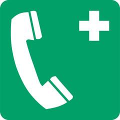 ISO 7010 E004 Emergency telephone