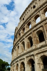 THE COLISEUM OF ROME,ITALY