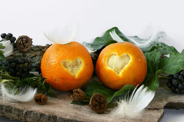 Oranges for Valentine's Day