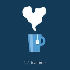 tea with heart steam