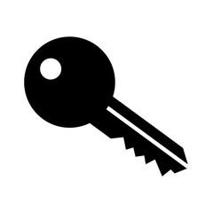 single key icon image vector illustration design