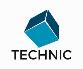 Technology Logo, Tech Firm Logo Vector Design, Full Vector Template Eps 10