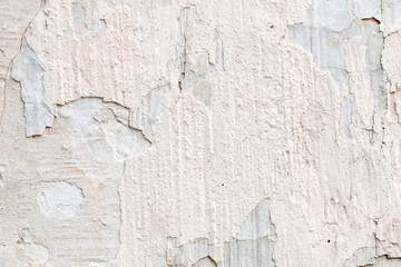 Canvas Prints Old dirty textured wall white concrete wall texture
