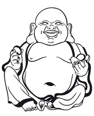 Little Buddha Vector
