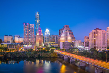 Wall Mural - Downtown Skyline of Austin, Texas