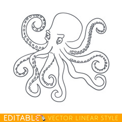 Octopus icon.