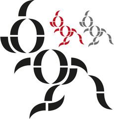 Kangaroo Logo Elements