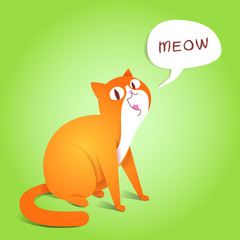 Ginger Cat character.