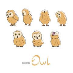 Cute owlet set