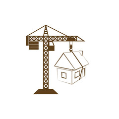 building construction crane icon