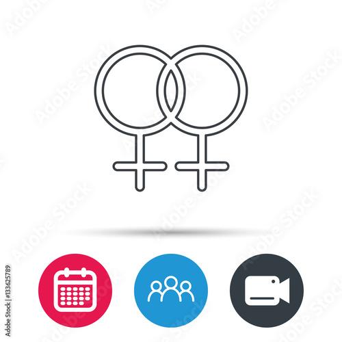 Lesbian love circle video