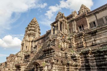 Angkor Wat the landmark of Siem reap in Cambodia.