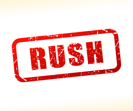 rush text stamp