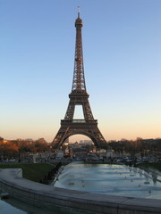 Another view of the Eiffel tower.