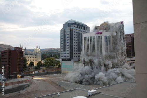 Building Demolition With Explosives : Quot building demolition with explosives stock photo and