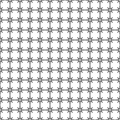 Abstract black and white geometric background. Seamless pattern. Sters texture. Vector illustration