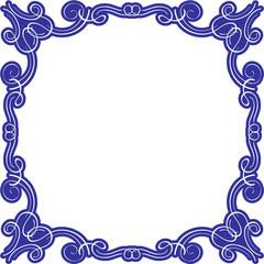 Victorian swirll splendid frame