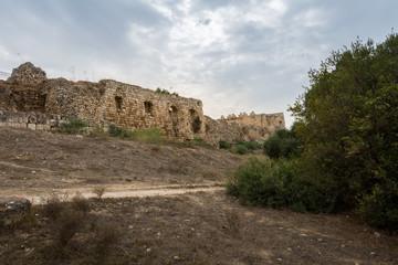 Antipatris Fort at Yarkon National Park