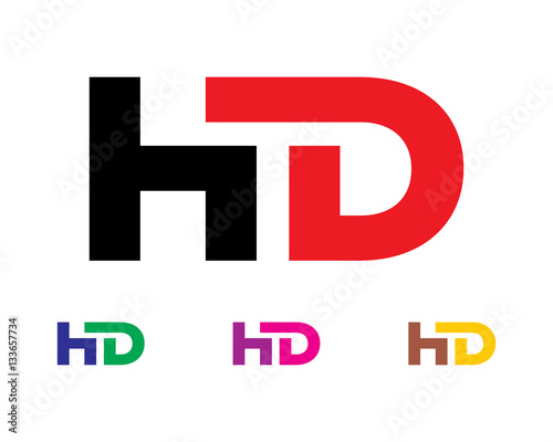 Hd letter logo stock image and royalty free vector files on fotolia hd letter logo thecheapjerseys Gallery