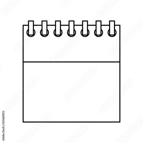 Calendar Reminder Design : Quot calendar reminder isolated icon vector illustration
